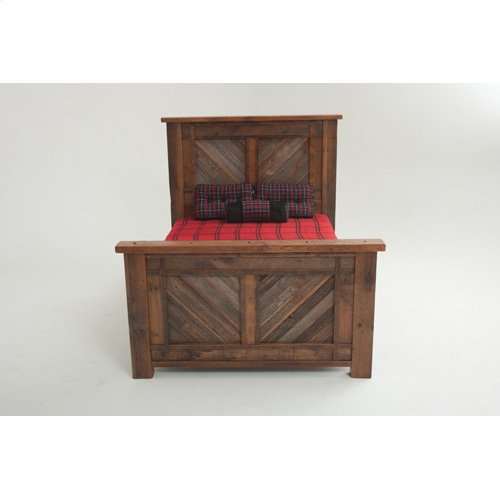 Heritage Soda Springs Bed - California King Bed (complete)