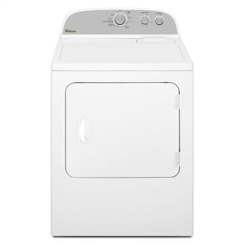 Whirlpool® 7.0 cu. ft. Electric Dryer with Wrinkle Shield™ Option - White