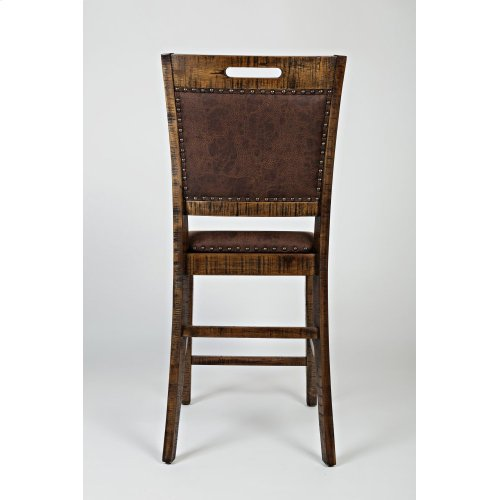 Cannon Valley Upholstered Back Counter Stool