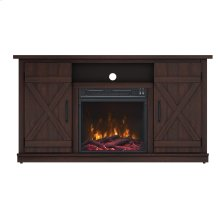 Cottonwood TV Stand with Electric Fireplace