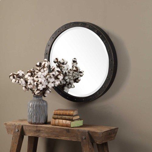 Beldon Round Mirror