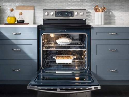 5.9 cu. ft. Electric Range with True Convection and Soft Close Door