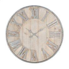 Adelaide Galvanized Wall Clock