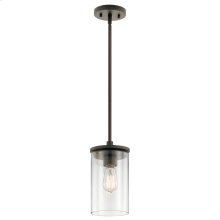 Crosby Collection Crosby 1 Light Mini Pendant OZ