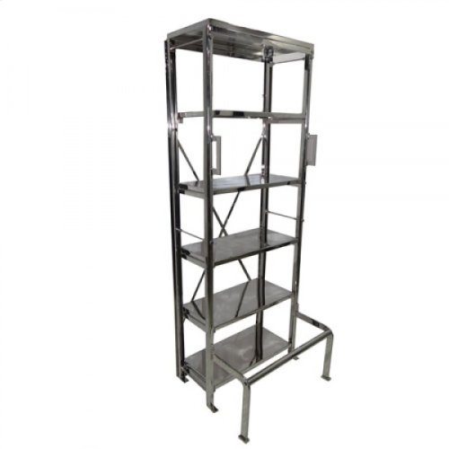 Stainless Steel Metal Library Book Shelf