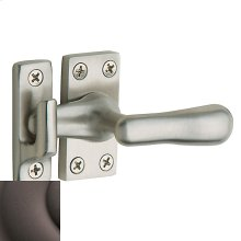 Distressed Venetian Bronze Casement Fastener