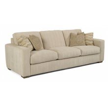 Collins Fabric Large Three-Cushion Sofa