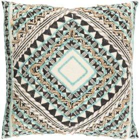 "Kazinga KAZ-002 22"" x 22"" Pillow Shell with Polyester Insert"
