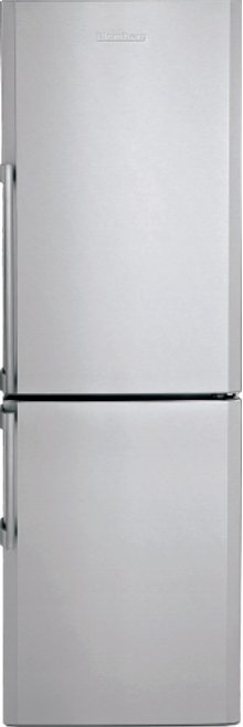 "24"" 13 cuft bottom freezer fridge with internal ice maker, stainless, replaces BRFB1152SSN w/ ice"