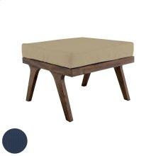 Teak Square Ottoman Cushion