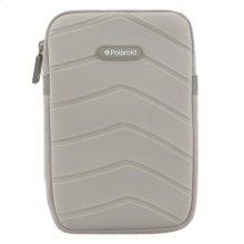 Polaroid Plush Neoprene 7 Inch Tablet Sleeve, Gray - PAC170GY