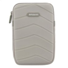 Polaroid Plush Neoprene 7 Inch Tablet Sleeve, Gray - PAC170GY
