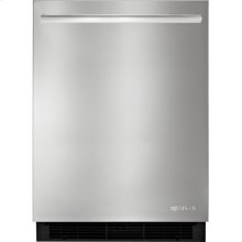 24-inch Under Counter Refrigerator, Euro-Style Stainless Knob