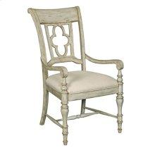 Weatherford Cornsilk Arm Chair