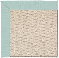 Creative Concepts-White Wicker Canvas Glacier Machine Tufted Rugs