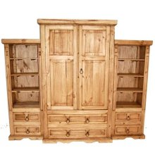 Pocket Door 3 PC Wall (inside Hinges)
