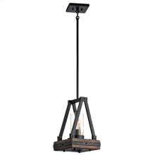 Colerne Collection Colerne 1 Light Mini Pendant - AUB