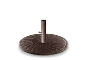 "24"" Round Cast Iron Umbrella Base"