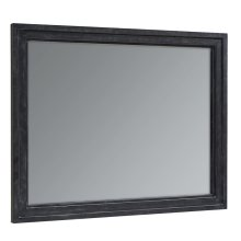 Blackened Bronze Foundry Mirror