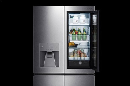 LG SIGNATURE 23 cu. ft. Smart wi-fi Enabled InstaView Door-in-Door® Counter-Depth Refrigerator - CLEARANCE ITEM