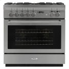 """AGA Professional 36"""" Dual Fuel Self Cleaning Range Product Image"""