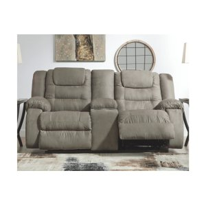 Ashley FurnitureSIGNATURE DESIGN BY ASHLEDBL Rec Loveseat w/Console