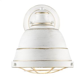 Bartlett 1 Light Wall Sconce in French White