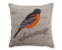 Robin Feather Toss Cushion 18x18