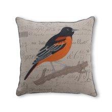 Robin Feather Toss Cushion 18x18