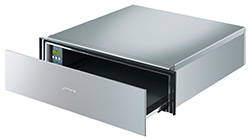 "Food and Dish Warming Drawer for Compact Ovens, 24"" (60cm). Fingerprint-proof Stainless Steel"