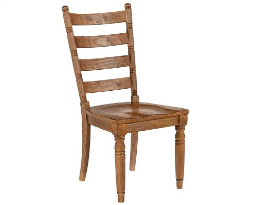 Bench Slat Back Chair