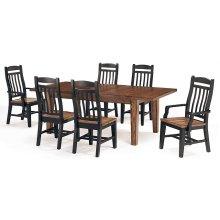 Leg Table (black/whiskey)