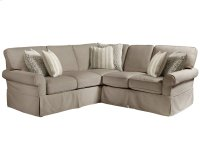 Left Arm Loveseat Sectional Product Image