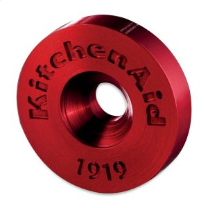 Handle Medallions - Red -