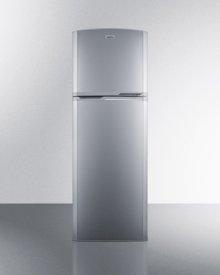 8.9 cu.ft. frost-free refrigerator-freezer in platinum