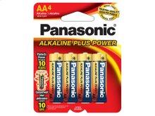 Alkaline Plus Power AA 4-Pack