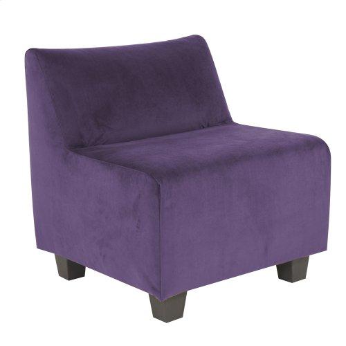 Pod Chair Bella Eggplant