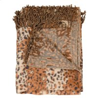 "Throw Sz014 Rust 50"" X 70"" Throw Blankets Product Image"