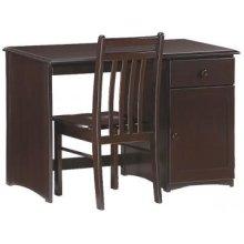 Spice Chocolate Clove Desk & Chair