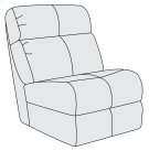 McGwire Armless Chair Product Image