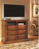 Media Chest - Antique Pine Finish Product Image