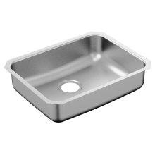 """2000 Series 18""""x23"""" stainless steel 20 gauge single bowl sink"""