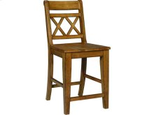 Canyon XX Back Stool in Pecan