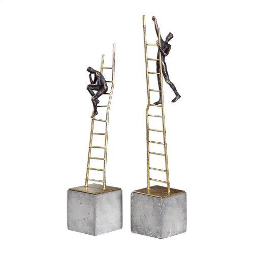 Ladder Climb Figurines, S/2
