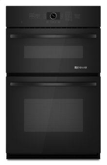 Black Jenn-Air® Combination Microwave/Wall Oven with MultiMode® Convection, 27""