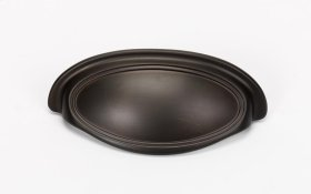 Classic Traditional Cup Pull A1570-3 - Chocolate Bronze