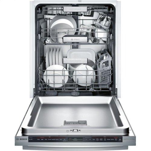 Benchmark® built-under dishwasher 24'' Stainless steel SHX89PW55N