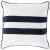 """Additional Linen Stripe LS-005 22"""" x 22"""" Down Filler"""