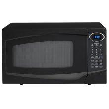 Black Countertop Microwave Oven