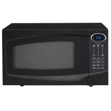 Black Countertop Microwave Oven